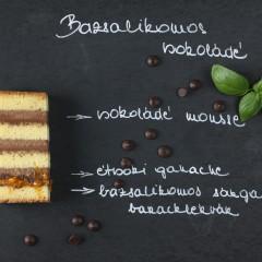 Bazsalikomos csokoládé